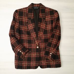 Chic Petites Jackets & Coats - Vintage Wool Blend Blazer